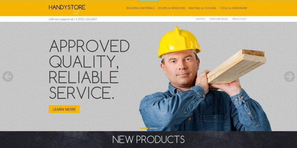 Magento themes - Handy Store review