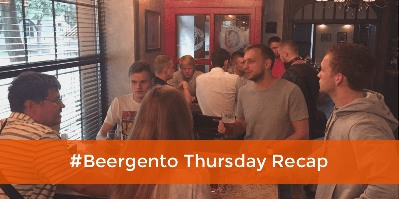 beergento thursday recap - magento 2 meetup