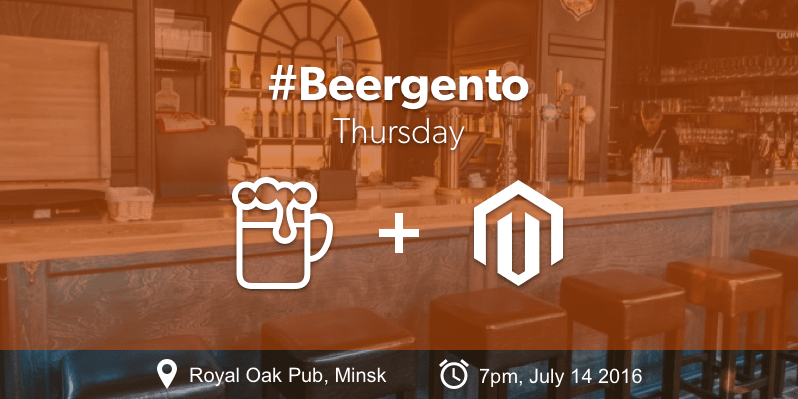 Magento 2 meetup announcement
