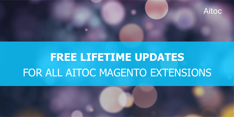 Aitoc Free Lifetime Updates for Magento