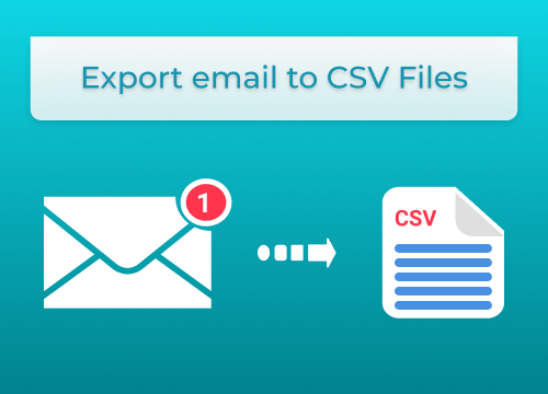 Export Email to CSV Files