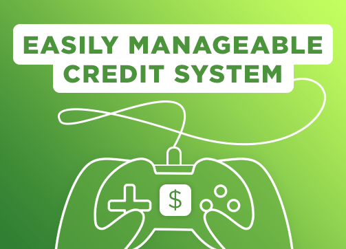 Easily Manageable Credit System