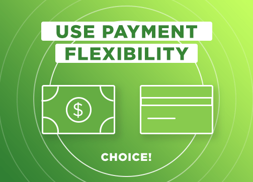 Use Payment Flexibility