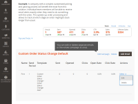 Custom Order Status for Magento 2 Change event main page