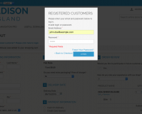 registration merged with checkout