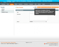 Add new template: Magento Custom Product Options Templates plugin