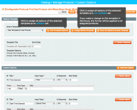 Custom Product Options extension for Magento management: Custom Product Options extension for Magento