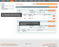 Template Options: Custom Product Options module for Magento