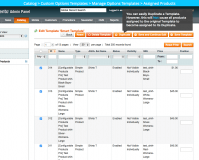 Magento Enterprise Custom Options Templates