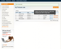 Grocery List extension for Magento Enterprise