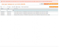 Magento Orders Export and Import