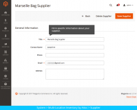 Magento 2 Multi-Location Inventory extension