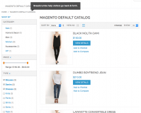 Multi-select navigation in Magento