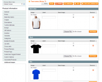 Magento Product Color Swatches extension